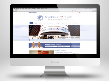 Academia Day Clinic Home Page
