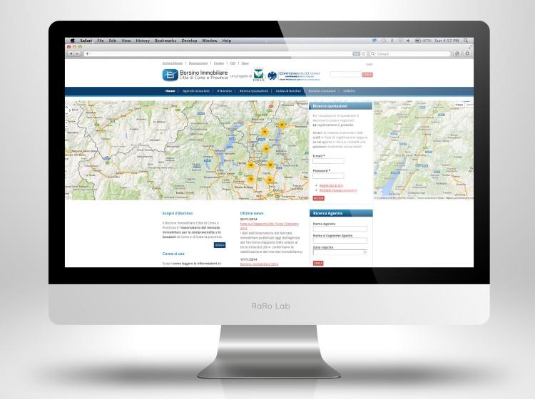 Borsino immobiliare Home Page