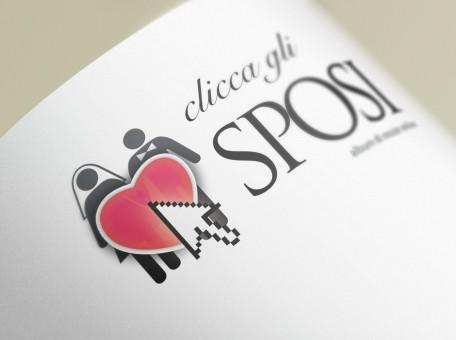 Clicca gli Sposi logo