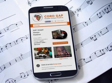sito web responsive coro gap como
