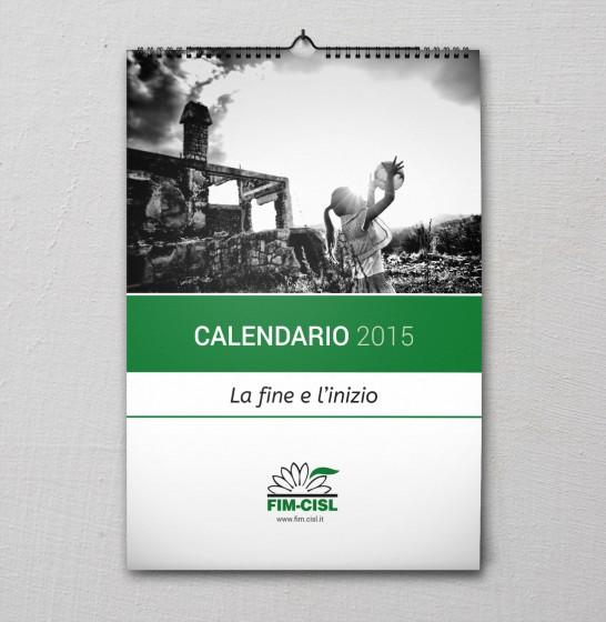 Fim Cisl Copertina Calendario 2015