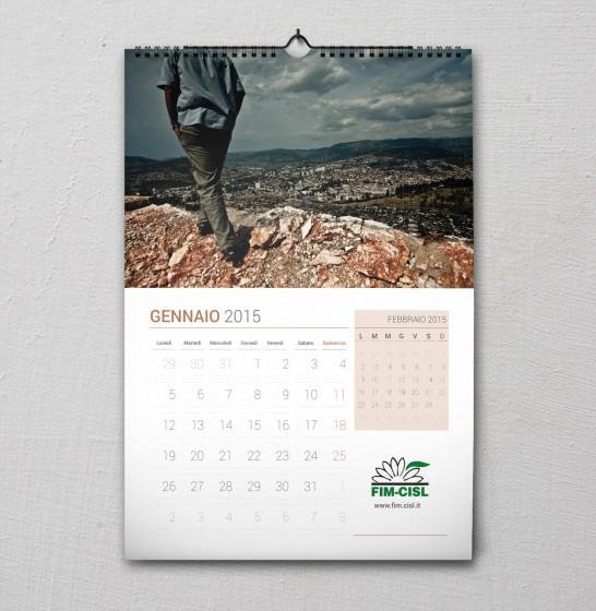 Fim Cisl Calendario 2015 gennaio