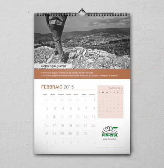 Fim Cisl Calendario 2015 febbraio