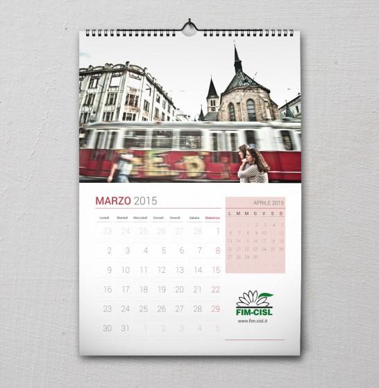 Fim Cisl Calendario 2015 marzo