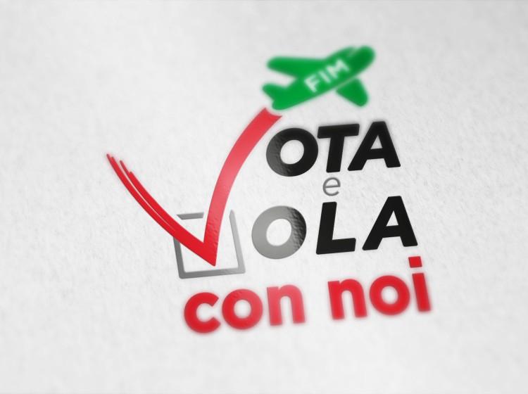fim-cisl elezioni RSU Logo Vota e Vola