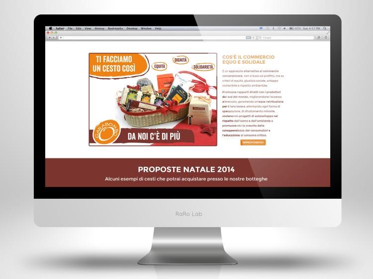 Garabombo Natale sito onepage