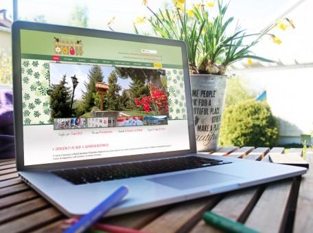 sito internet wordpress giardino botanico