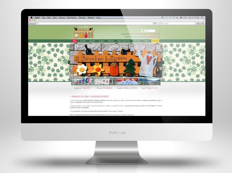 Giardino Botanico Home Page