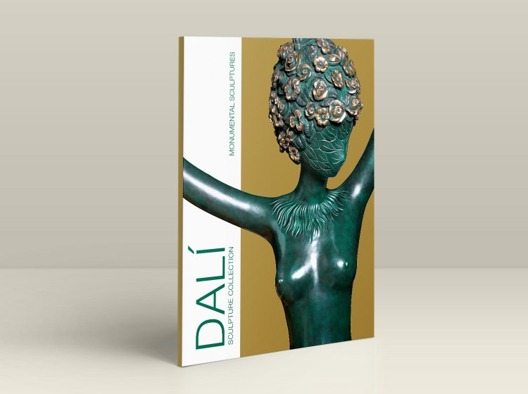 Dalí Sculpture Collection - Copertina opere monumentali