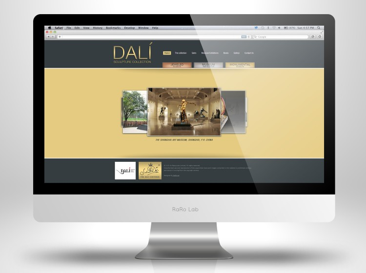 Dalí Sculpture Collection Homepage