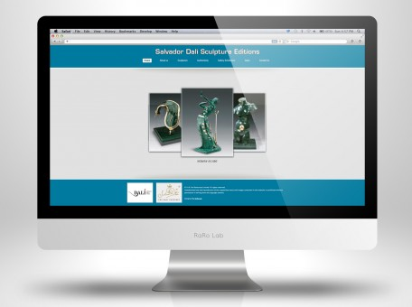 Dalí Sculpture Edition Homepage