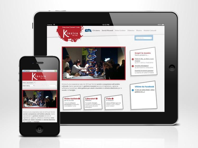 sito internet responsive Kinzica