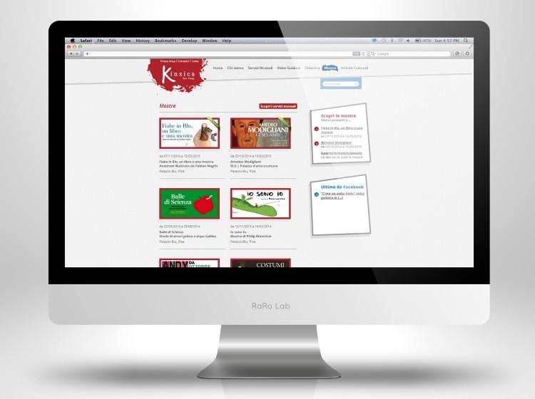 sviluppo sito internet responsive kinzica pisa