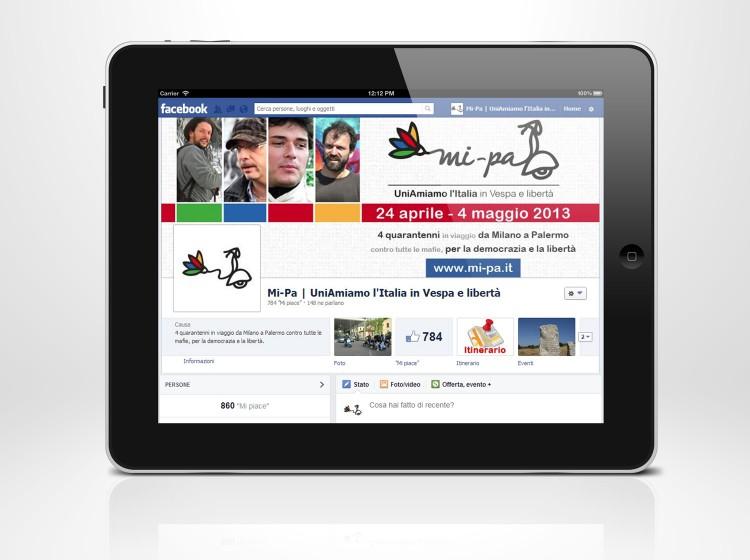 Personalizzazione pagina Facebook