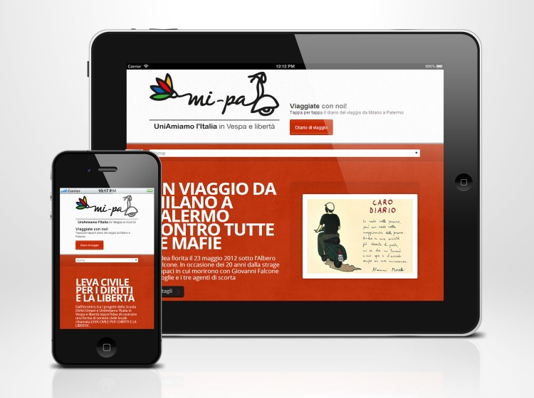 Sviluppo sito internet responsive MI-PA