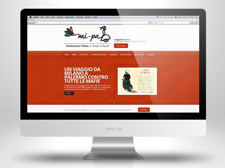 Realizzazione sito web Mi-Pa