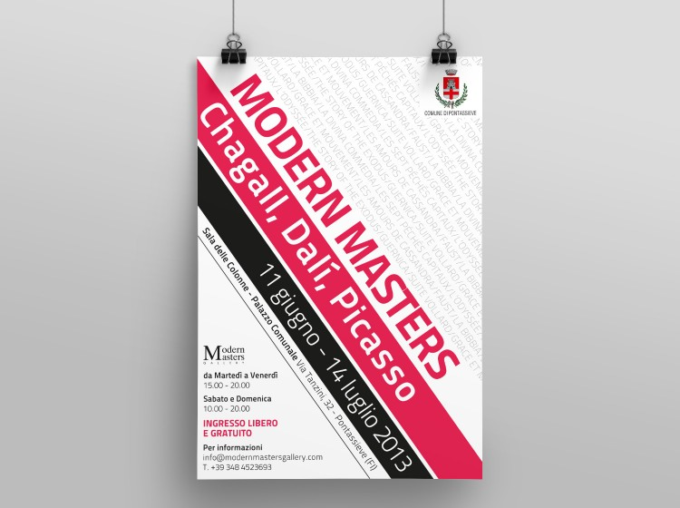 Modern Master grafica a stampa poster