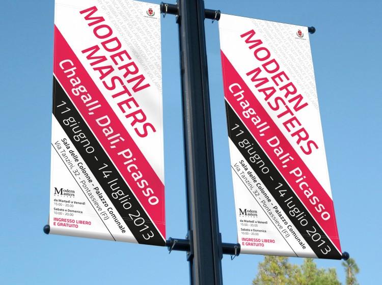 Modern Masters - Bandiere promozionali
