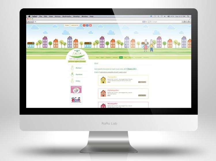 sviluppo sito web responsive Mygia, sezione attività