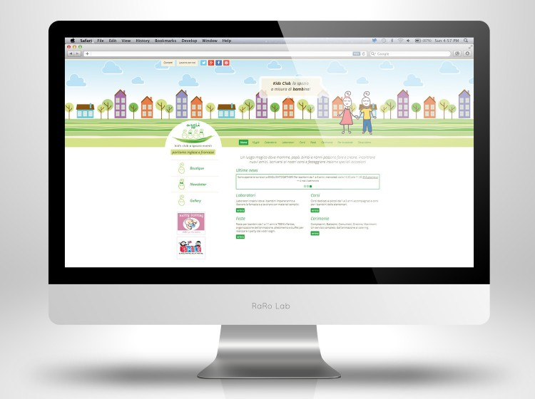 Home Page sito internet Mygia