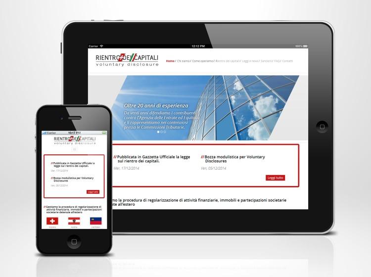 Sito web responsive Rientro dei Capitali