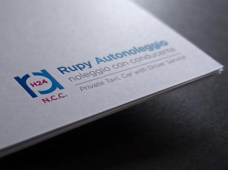 Ideazione e creazione logo Rupy NCC