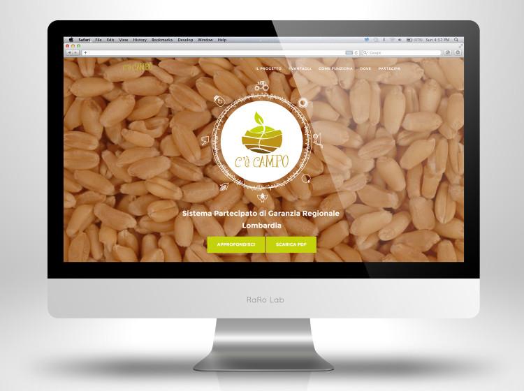 home page sito internet c'è campo