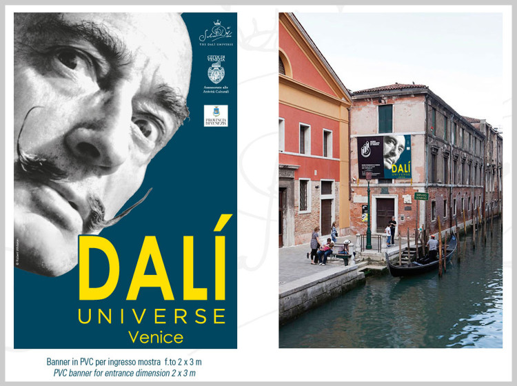 Dali Universe Venezia manifesto ingresso mostra