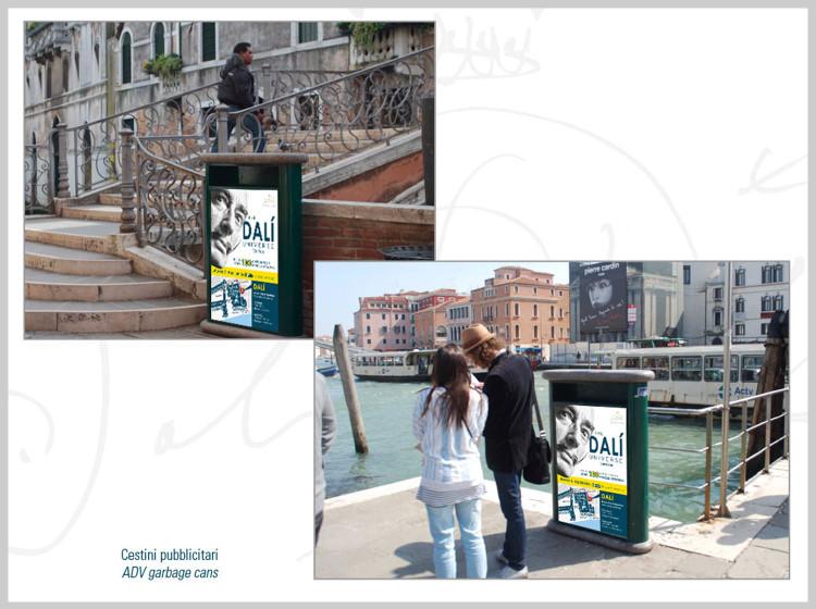 Dali Universe Venezia ADV cestini