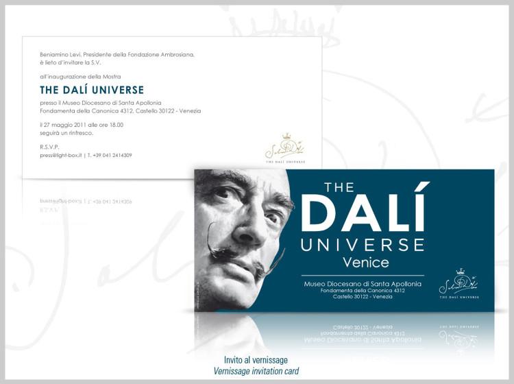 Dali Universe Venezia Invito al Vernissage
