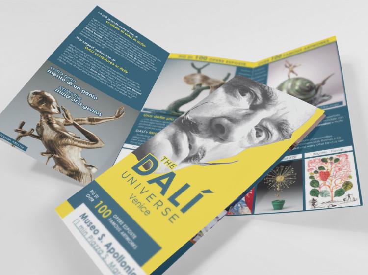 Dali Universe Venezia brochure 3 ante