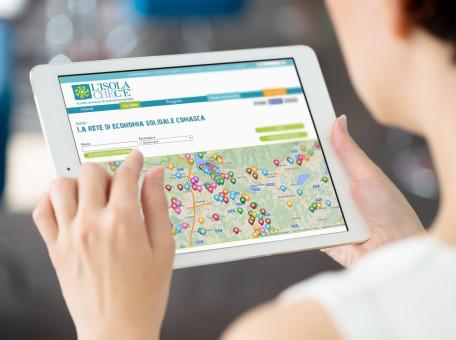 realizzazione sito web responsive isola che c'è Como