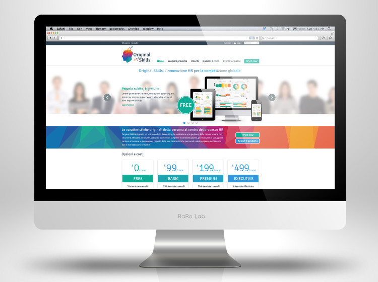 Original Skills Home page