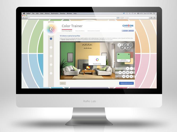 grafica app colora la casa lechler