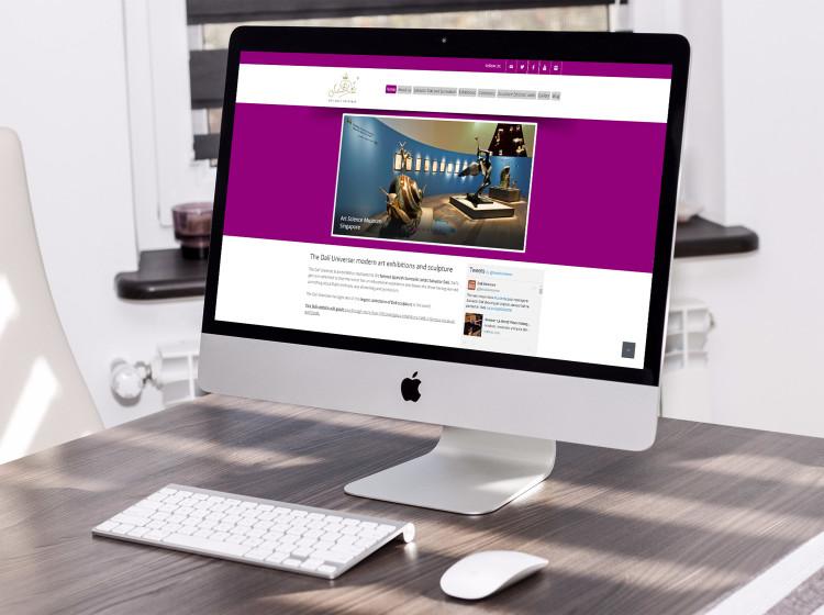 sviluppo sito internet Dali Universe