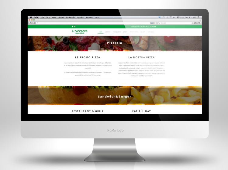 Pappafico sito web